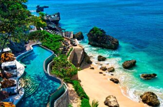 Корпоратив на острове Бали в Индонезии